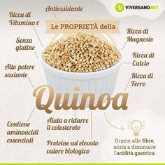 Proprietà della Quinoa