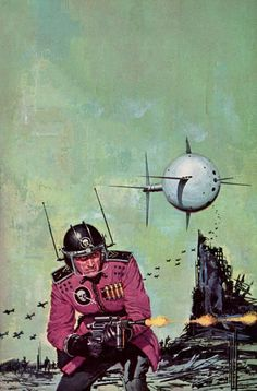 sciencefictiongallery:Ed Valigursky - Space Viking, 1963.