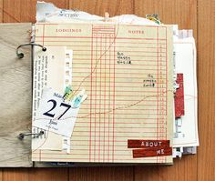 Smash - Journal - Scrapbook  - what ever you call it, just do it.  You'll be glad you did.