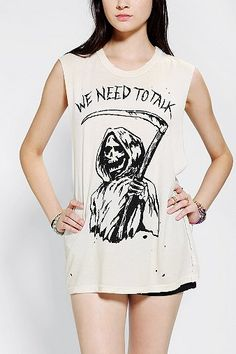 UNIF We Need To Talk Muscle Tee for Halloween (LOL)