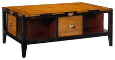 French Heritage Draper's Coffee Table traditional-coffee-tables