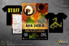 Aria Sikula - Locandina, volantini e magliette concerto