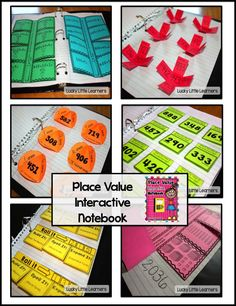What's Included in this 38-page product: *Explanation of Interactive Math Notebooks *Place Value Mini-Posters *Roll It *Place Value Bubble Map *Ones, Tens, and Hundreds Flip Flaps *Base Ten Block Flip Flaps *Expanded Form Flip Flaps *10 More, 10 Less, 1 M