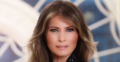 In an unexpected move, the first lady chose an Italian brand when styling her role for posterity.