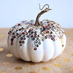 Lot de 3 Orange Crush Velours Tissu CITROUILLES Décoration Automne Halloween