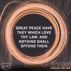 KJV Verse of the Day: Psalm 119:165