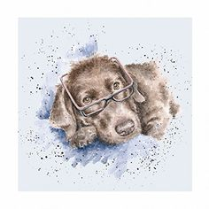 Large selection of Wrendale Designs products. Watercolor Paintings Of Animals, Animal Paintings, Watercolor Art, Different Forms Of Art, Wrendale Designs, Cartoon Dog, Dog Cartoons, Whimsical Art, Pastel