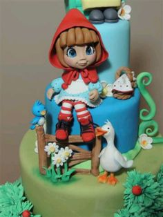 Little Red Ridin Hood Cake by Mary torte