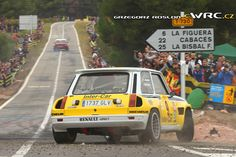 Renault R5 Turbo 2015 Rally Catalunya Renault Sport, Turbo Car, Karting, Rally Car, Car And Driver, Bugatti, Peugeot, Cars And Motorcycles, Race Cars