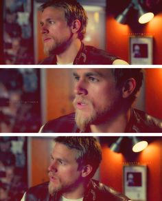 Jax Teller - LOVED his hair like this!