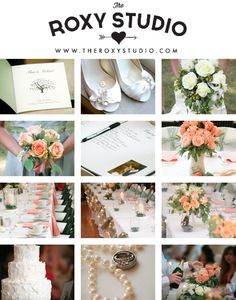 Photography by Samantha McGranahan, The Roxy Studio. Wedding photography, wedding photos, summer, reception, details, green, sage, flowers, pink, shoes, decorations, candles, lights, natural, bouquets, guest books, peach