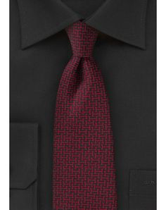 mens red print tie - Google Search