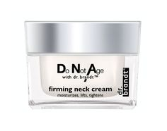 Tighten and Firm Your Jawline With These Top 10 Products: dr. brandt Do Not Age Firming Neck Cream #Beauty #Jawline #Skin