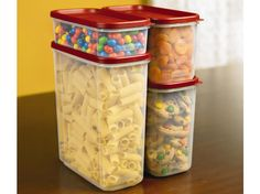 Rubbermaid Modular Canisters - great for flour, sugar, etc. storage in the pantry