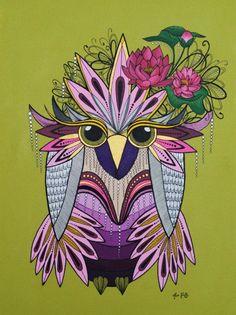 'Mr Hibou Fleur de Lotus' by Miss KinKy