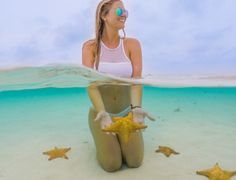 """Blonde Abroad"" Ways to travel the world for free. Amazing blog! Why didn't I see this years ago? Oh, and I definitely would love to swim with sea stars!⭐️"