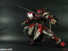 red astray gundam customs | uploaded to pinterest