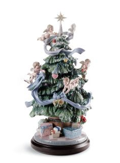 01008477  GREAT CHRISTMAS TREE  Issue Year: 2009  Sculptor: Virginia González Size: 47x26 cm  Base included Limited Edition 2000 pieces