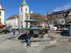 Zwettl/Niederösterreich Austria, Heart Of Europe, San Francisco Ferry, Street View, Building, Travel, Hundertwasser, Fountain, Woodland Forest