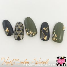 I like the way the metal studs was beautifully placed, beautiful nail art