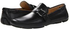 Salvatore Ferragamo Cabo Driver (Black) - Footwear on shopstyle.com