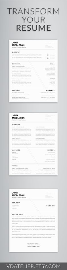 Nursing Resume Template 5 Pages Nurse CV Template - Registered - template for nursing resume
