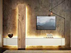 The Ostermann online shop for modern living room furniture, wall units and extension walls. Easy to order from home. Shop or finance online. Living Room Tv Cabinet, Living Room Furniture, Tv Diy, Lcd Units, Tv Rack, Modern Wall Units, Family Room, Home Decor, Modern Living