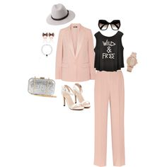 My look by afashionpage on Polyvore featuring DKNY, NLY Accessories, ALDO, Forever 21 and Prada