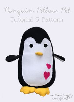 We Lived Happily Ever After: DIY Penguin I know just the person I need to make this for!!