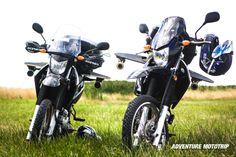 Las inspiradoras #Yamaha XTZ 250  www.adventuremototrip.com