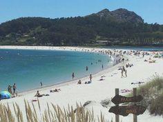 Playa de Rodas, Islas Cíes, Galicia, España