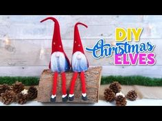 Crafts for Xmas decoration DIY, how to make Santa Claus elves- Christmas ornaments DIY - YouTube