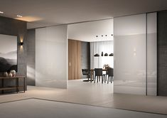 Glass is the absolute protagonist of Scenario, ultimate frontier of FerreroLegno design.