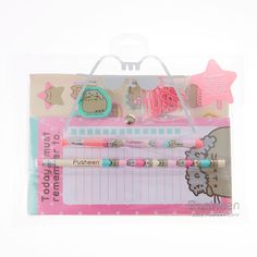 Shop the hottest styles and trends from cool jewellery & hair accessories to gifts & school supplies. Pusheen Gifts, Pusheen Cute, Crafts For Kids, Diy Crafts, Kawaii Jewelry, Cute School Supplies, School Girl Outfit, Bullet Journal Ideas Pages, Kawaii Drawings