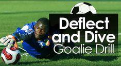 10 Soccer Goalie Drills to Block Every Shot - Soccer Coaching Pro Soccer Goalie, Soccer Drills, Soccer Coaching, Soccer Ball, Goalkeeper Training, Soccer Training, Soccer Motivation, Soccer Workouts, Diving