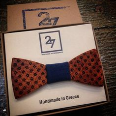 BOW TIE - 27 Wooden Accessories