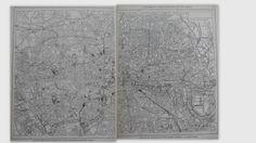 1928 LONDON Maps. DUAL City Street Maps. by OriginalAntiqueMaps, $19.97
