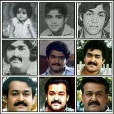 Mohanlals different stages