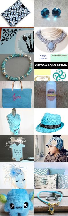 Something Blue by Jo Stamatakis on Etsy--Pinned with TreasuryPin.com #bluegiftguide