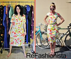 A fun and inspirational blog that chronicles the transformations of one girl's thrift store clothing finds. The ReFashionista, Jillian Owens, is funny and super creative to boot--check her out!