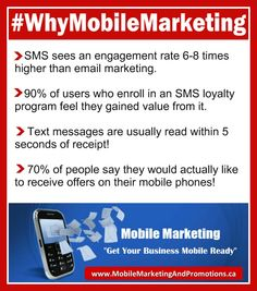 #WhyMobileMarketing. Text Message Marketing.. the NEW Kid on the Marketing Block. Watch this video: http://youtu.be/2C-eaaR-tVE