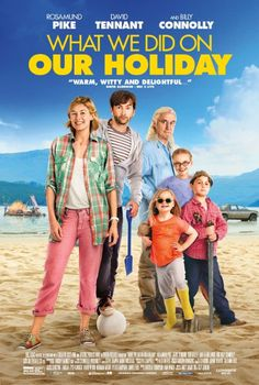 What We Did On Our Holiday on DVD October 2015 starring Rosamund Pike, Billy Connolly, David Tennant, Celia Imrie. Abi and Doug McCleod have decided to end their marriage. Trouble is, the end comes at the start of a trip to the Scottish Highlands to celeb Comedy Movies, Hd Movies, Movies To Watch, Movies And Tv Shows, Movie Tv, Teen Movies, Film Watch, Movie List, Movies Online