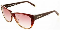 Dsquared2 DQ 0080 71F Burgundy/Brown Gradient Dsquared2 Sunglasses | Dsquared2 Eyewear | Designer Sunglasses | Dsquared2 UK
