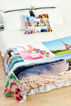 A photo blanket is a great way to add a personal touch to your home. Save up to 64% on photo blankets +free shipping!