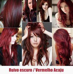 inspirações+cabelos+ruivo+escuro+vermelho+acaju+ginger+red+hair.png (620×626)