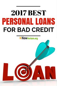 2017 Best Personal Loans for People with BAD, POOR or NO Credit. Apply here!