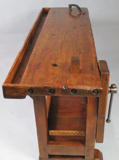 French Country Style Carpenter's Workbench image 4