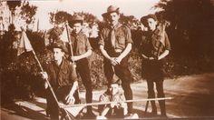 les scouts russes de Nice en 1929