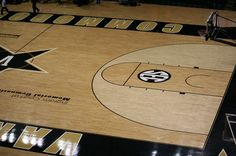 Memorial Gym close court