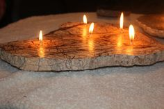 I love love love these granite candles!
